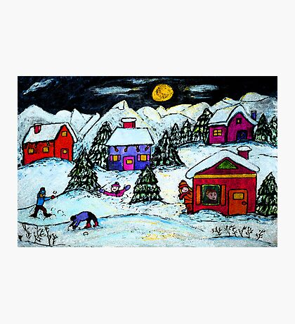 Winter Fun Photographic Print