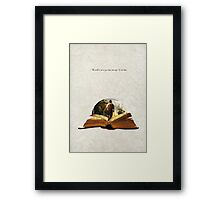 Bilbo's Adventure Framed Print