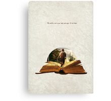 Bilbo's Adventure Canvas Print