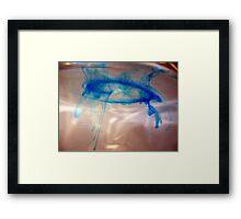 Ink Swirl Framed Print