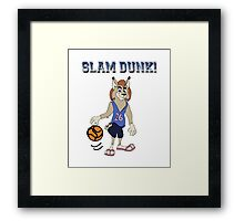Slam Dunk! Framed Print