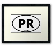 Puerto Rico Framed Print