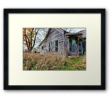 Old Decaying House Framed Print