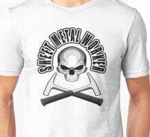 Sheet Metal Worker Skull v3 Unisex T-Shirt