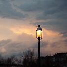 Storm Clouds and Gas Lights by Kenneth Massara