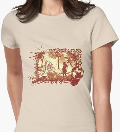 Detour Womens Fitted T-Shirt