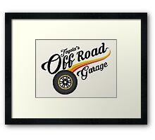 Off Road Garage Framed Print