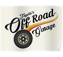 Off Road Garage Poster