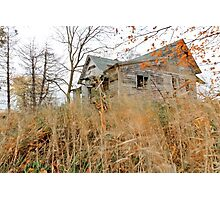 Old Abandoned House Photographic Print