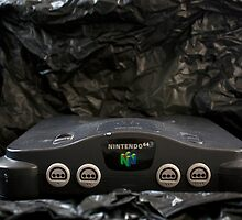 Nintendo 64 System and AC Power Cord by FoodMaster