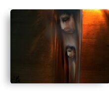 Lutte interne Canvas Print