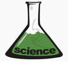 Science Beaker Green One Piece - Long Sleeve