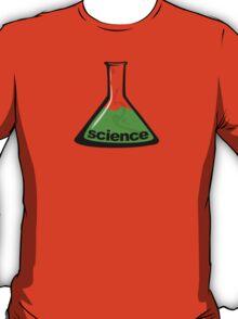 Science Beaker Green T-Shirt