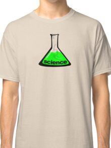Science Beaker Green Classic T-Shirt