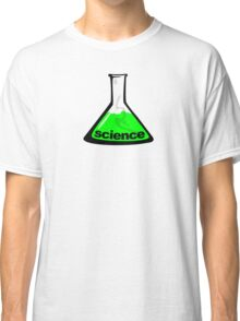 Science Beaker Green Classic T-Shirt