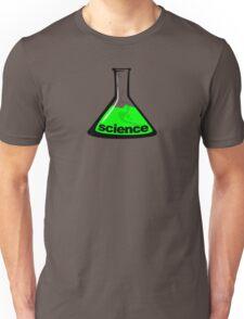 Science Beaker Green Unisex T-Shirt