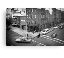 Streets of New York II Metal Print