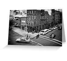 Streets of New York II Greeting Card