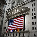 New York Stock Exchange by Dilshara Hill