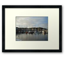 Findochty Harbour Framed Print