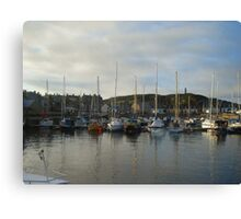 Findochty Harbour Canvas Print