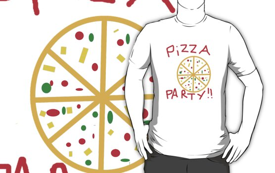 Pizza Party! by alphabetboy