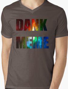 DANK MEME Mens V-Neck T-Shirt