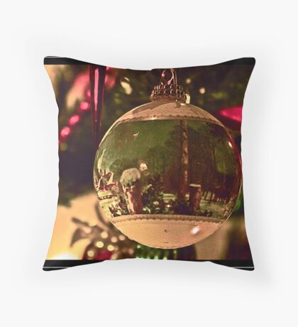 Christmas Bauble Throw Pillow