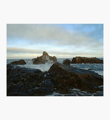 Seascape in Aberdeenshire Photographic Print