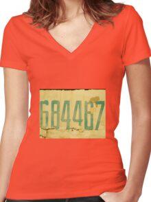 The Secret Code Women's Fitted V-Neck T-Shirt