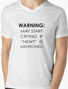 May Start Crying If Newt Is Mentioned Mens V-Neck T-Shirt