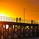 The Yellow glow....Port Noarlunga Adelaide by Ali Brown