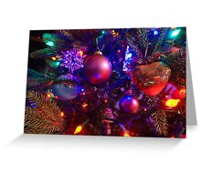 Deck the tree Greeting Card