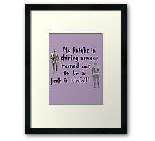 My Knight Framed Print