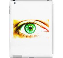 X-ray perception - Eye iPad Case/Skin