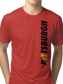 Pittsburgh PIT Tri-blend T-Shirt