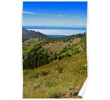 Mountain Meadows and Straits Poster