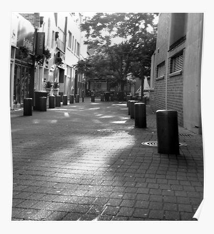Quiet Time in Market Lane Poster