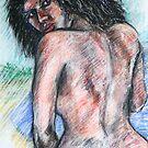 Indigenous Bather by Reynaldo