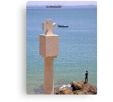 Thinking at the Edge of Bahia Canvas Print