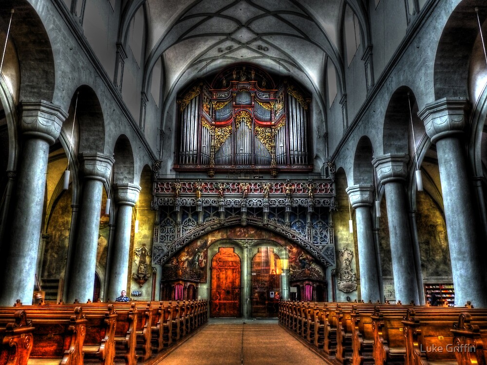 Pipe Organ - Constance Cathedral by Luke Griffin
