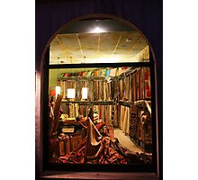 Fabrics Store Window. Pavia, Italy 2010 Photographic Print