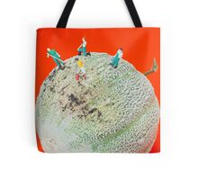 Dirty Cleaning On Sweet Melon Tote Bag