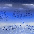 Rain In The Curly Tree Forest by CarolM