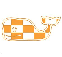 Tennessee Vols Whale by Davis Luna
