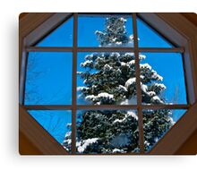 Christmas The Way I see It Canvas Print