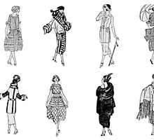 Fashion of the 1920s by windysoul