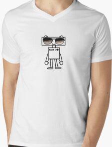 Lil' Robo Rockin' Shades Mens V-Neck T-Shirt