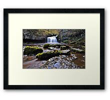 West Burton Flow Framed Print