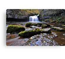 West Burton Flow Canvas Print
